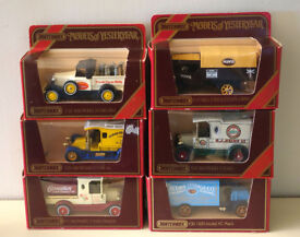 FIRST SET OF SIX MODELS OF YESTERYEAR IN BOXES