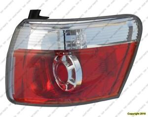 Tail Lamp Passenger Side High Quality GMC Acadia 2007-2012