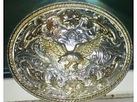 Large Belt Buckle.