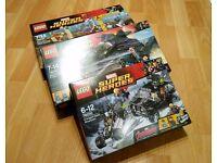 3 LEGO Marvel Super Heroes Sets - 76030 / 76037 / 76047 BNIB NEW - £60