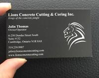 In need of Concrete cutting services?