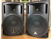 POWERED SPEAKERS (PAIR) - Behringer Eurolive B215A 2-way 400w