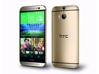 New Factory Unlocked HTC One M8 Gold 16GB Android New Phone sealpack