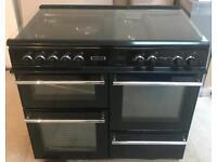 Leisure RCM10FRKP Cuisinemaster 100cm Dual Fuel Range Cooker - Black