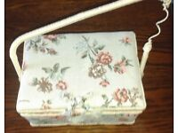 Sewing Kit with Basket