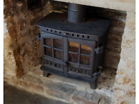 Hunter Herald 8 Multifuel/Wood Burning Stove