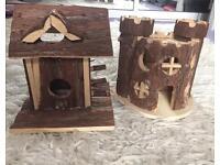 Dwarf hamster toys
