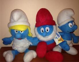 Smurf soft toys