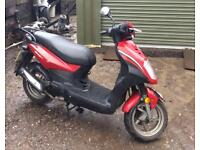 Symply sym 50cc moped scooter motor bike