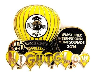 WARSTEINER BALLON Pin / Pins - NIGHT GLOW 2014 (3322)