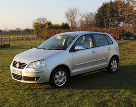 Volkswagen VW Polo S TDI 80 Turbo Diesel Silver 5 Door Hatchback 55 2006 65000 Miles MOT Jan 18
