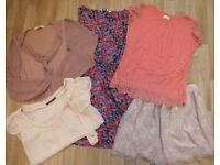Ladies Bundle Of Clothes. Size 12 NEXT New Look