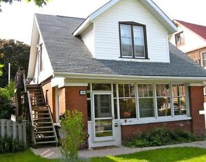 Well-maintained 2 BDRM Central Century Home Apartment!