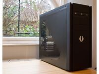 GAMING PC: INTEL Core i5-760/GTX 760/HDD 500GB/8GB RAM/ in BitFenix Shinobi Black Window Case.