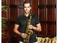 Saxophone Lessons from professional player. All ages! Saxophone tuition.