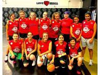 WOMEN'S BASKETBALL IN LONDON - BRAND NEW LEAGUE