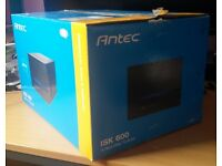 Antec ISK600 Black Mini Tower Mini-ITX Case - USB 3.0
