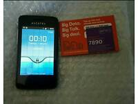 Alcatel one touch Android smart phone unlocked