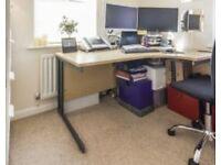 Corner desk for home office