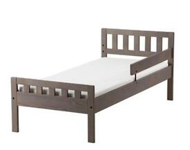 Brand new kids single toddler bed with mattress