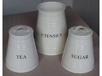 Tea, Sugar, Utensil. kitchen set.
