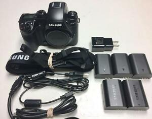 Samsung NX1 body only used for 1 wedding 5 battery full accessories mint with 90 days warranty