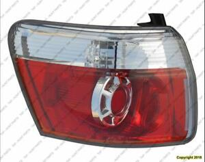 Tail Light Driver Side  GMC Acadia 2007-2012