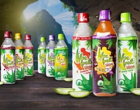 EXOTIC ALOE FRUIT WAVE. 24 X 500 ml. Mixed Carton. 15% Aloe Vera . Deal not to be missed !