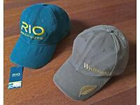 Rio and Wychwood Fly Fishing Cap (caps). Nicely worn in.