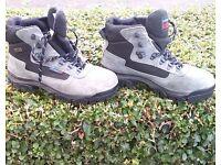 Karrimor KSB Waterproof hiking boots. Size 7. Worn 4 times hiking in Cornwall. £35 o.n.o