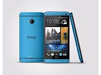 HTC one mini, 16gb, blue, unlocked, £80 fixed price