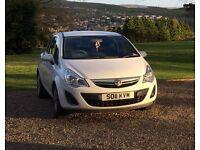 2011 White Vauxhall Corsa Hatchback 1.2 16v Excite 4x4 3dr Petrol