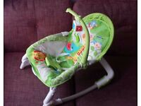 Fisher-Price Jungle Bouncer with Vibration