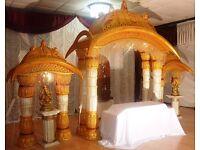 manavara or decoration pillars