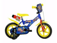 "12"" Fireman Sam Kids Bike"