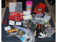 Job Lot of mixed tools and consumables