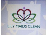 LILY MAIDS CLEANING SERVICES profesional move in out end of tenancy clean or housekeeping etc