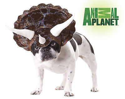 Triceratops Dinosaur Dog Costume Animal Planet Pet](Dog Triceratops Costume)