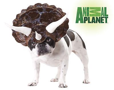 Triceratops Dinosaur Dog Costume Animal Planet Pet (Dog Triceratops Costume)