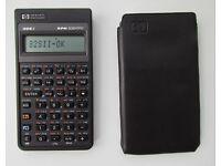 HP 32Sii RPN scientific vintage calculator, made in USA, VGC, self test ok
