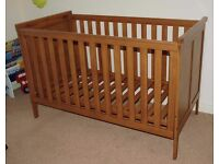 Mamas & Papas Cot / Bed - Longhouse Style
