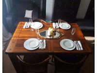 Solid Wood Extending Dining Table EX DISPLAY