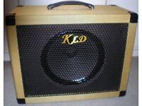 Tweed 1X12 112 Speaker Cabinet with Celestion Vintage 30 Speaker. 8 Ohms. 60 Watts.