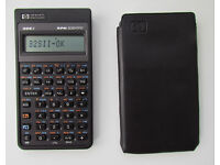HP 32Sii RPN scientific vintage calculator, made in USA, VGC, self test ok