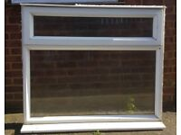 Double glazed window 125cm x 110cm