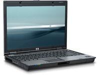 HP 6910p Dual Core 1.8GHZ Laptop. Windows 7. 2GB Memory. 160GB.