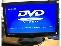 "21.5"" inch TECHNIKA Freeview LCD TV DVD USB Combo"