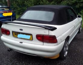 POWER / ELECTRIC ROOF for Ford Escort MK6 Cabby, Cabriolet, convertible (P reg) NO rams or pump inc