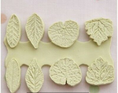 Mini Leaves, Silicone Mold Chocolate Polymer Clay Jewelry Soap Melting Wax Resin