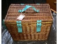 JOULES Picnic Basket Brand New with Tags